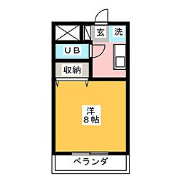 鈴木マンション[3階]の間取り