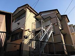 服部荘[1階]の外観