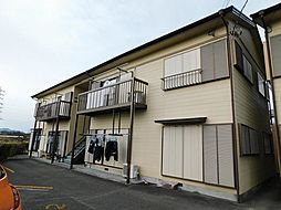 静岡県三島市北沢の賃貸アパートの外観