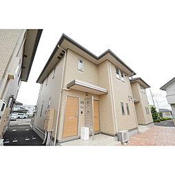 埼玉県川越市下新河岸の賃貸アパートの外観