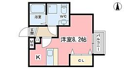 incubate[24号室]の間取り