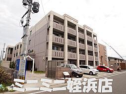福岡県福岡市西区元浜1丁目の賃貸マンションの外観