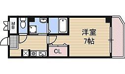 IF西梅田[2階]の間取り