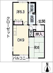 ソフィア 弐番館[1階]の間取り