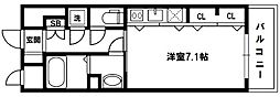 S-FORT新大阪ravir[3階]の間取り
