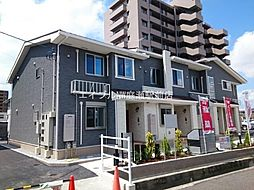 岡山県岡山市南区豊成2丁目の賃貸アパートの外観