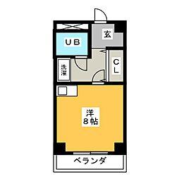 ザ・ヒルズⅠ[2階]の間取り