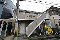 兵庫県尼崎市上ノ島町1丁目の賃貸アパートの外観