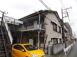 埼玉県草加市中根1丁目の賃貸アパートの外観