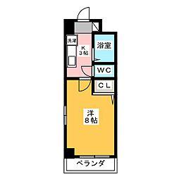 COSMOCOURT[2階]の間取り