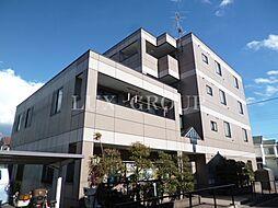 東京都福生市武蔵野台1丁目の賃貸マンションの外観