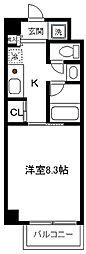 ルナグランデ[601号室]の間取り