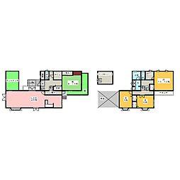[一戸建] 愛知県名古屋市天白区中平2丁目 の賃貸【/】の間取り