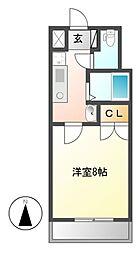 楽RAKU荘[9階]の間取り