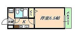 オービット垂水[2階]の間取り