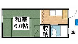 今コーポ[2階]の間取り