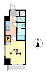スペーシア栄[10階]の間取り