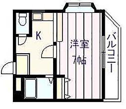 シャルム コート[2階]の間取り