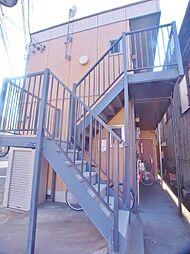 埼玉県朝霞市朝志ヶ丘2丁目の賃貸アパートの外観