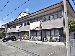 山梨県甲府市中村町の賃貸アパートの外観