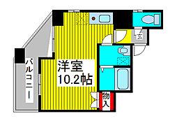 SKコートV[9階]の間取り