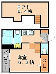 TRANQUIL(トランクイル)[2階]の間取り