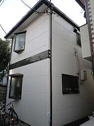 東京都目黒区柿の木坂2丁目の賃貸アパートの外観