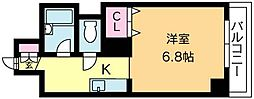 北海道札幌市北区北十七条西3丁目の賃貸マンションの間取り