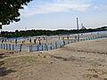 海の公園まで1...