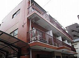 コーポロードサイド 幡ヶ谷駅徒歩6分 閑静な住宅街の最上階角の外観