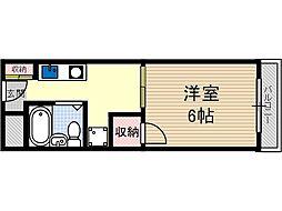 タイガーマンション[4階]の間取り
