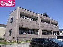 愛知県名古屋市天白区大坪2丁目の賃貸アパートの外観
