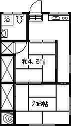新谷アパート[101号室]の間取り