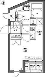 東京都港区麻布台3丁目の賃貸マンションの間取り