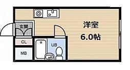 グランドハイツ野田[5階]の間取り