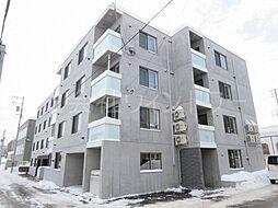 北海道札幌市西区発寒二条5丁目の賃貸マンションの外観