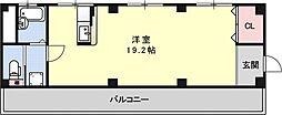 プラザビル[4F号室号室]の間取り