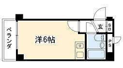 リッチライフ甲子園III[502号室]の間取り