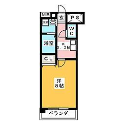 VI Be cozy[1階]の間取り