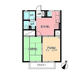 ドリームハイツ[1階]の間取り