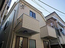 東京都世田谷区北沢3丁目の賃貸アパートの外観