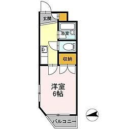 平成第2ビル[4階]の間取り