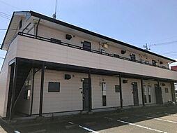 メープルハイツB[2階]の外観