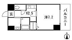 愛知県名古屋市千種区今池3丁目の賃貸マンションの間取り