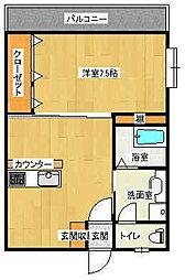 ドリームハウス2[2階]の間取り