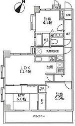 泉区新橋町 セントラルヒルズ四番館105号室[105号室]の間取り