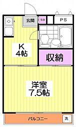 10109[3階]の間取り