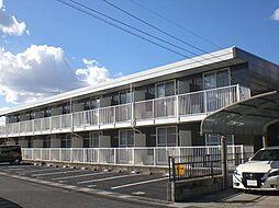 埼玉県吉川市きよみ野2の賃貸アパートの外観
