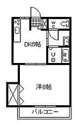 ステートラスK2[3階]の間取り