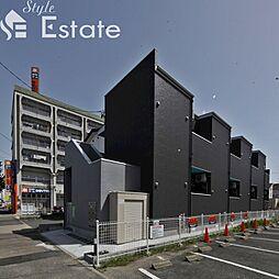 愛知県名古屋市中村区豊国通4丁目の賃貸アパートの外観